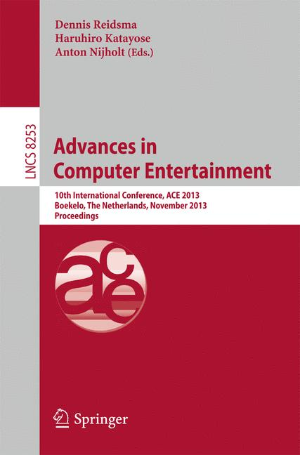Cover of 'Advances in Computer Entertainment'