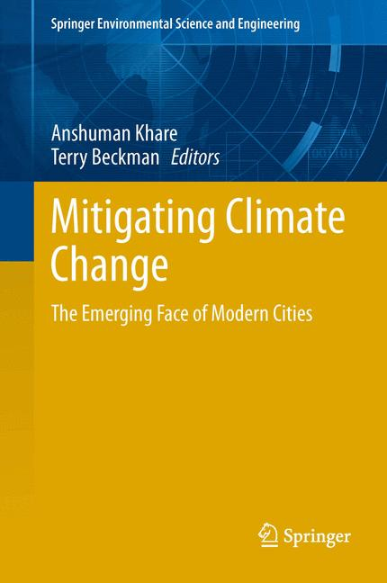 Cover of 'Mitigating Climate Change'