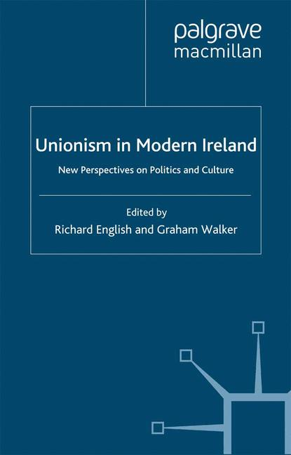 Cover of 'Unionism in Modern Ireland'