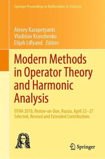 Cover of 'Modern Methods in Operator Theory and Harmonic Analysis'