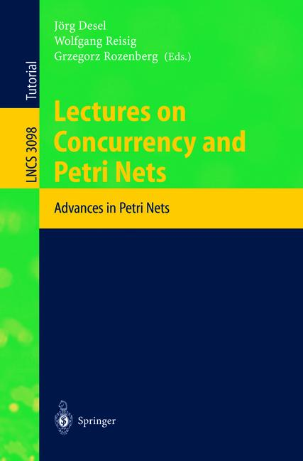 Cover of 'Lectures on Concurrency and Petri Nets'