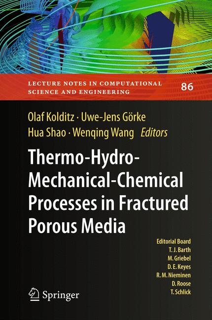 Cover of 'Thermo-Hydro-Mechanical-Chemical Processes in Porous Media'