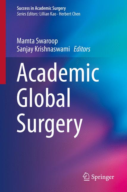 Cover of 'Academic Global Surgery'