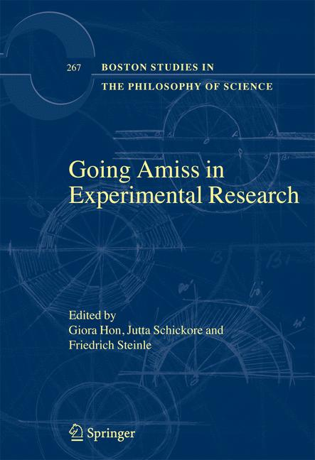 Cover of 'Going Amiss In Experimental Research'