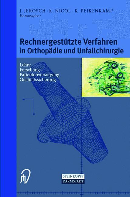 Cover of 'Rechnergestützte Verfahren in Orthopädie und Unfallchirurgie'