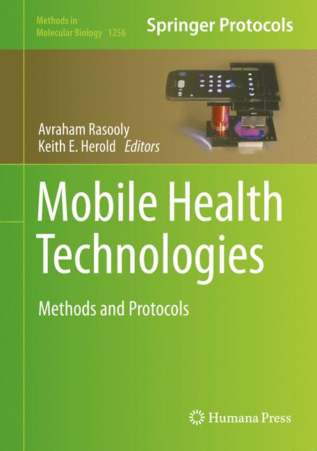 Cover of 'Mobile Health Technologies'
