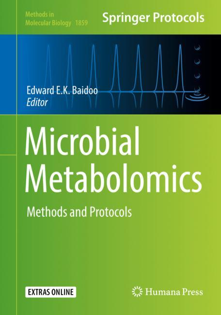 Cover of 'Microbial Metabolomics'