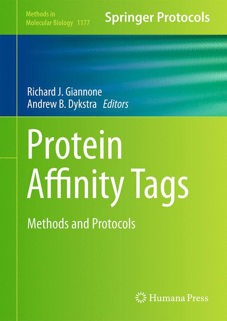 Cover of 'Protein Affinity Tags'