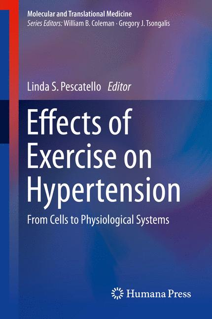 Cover of 'Effects of Exercise on Hypertension'