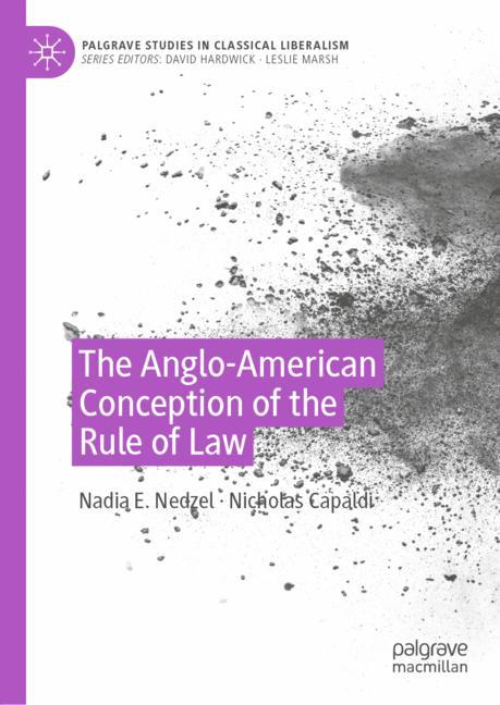 Cover of 'The Anglo-American Conception of the Rule of Law'