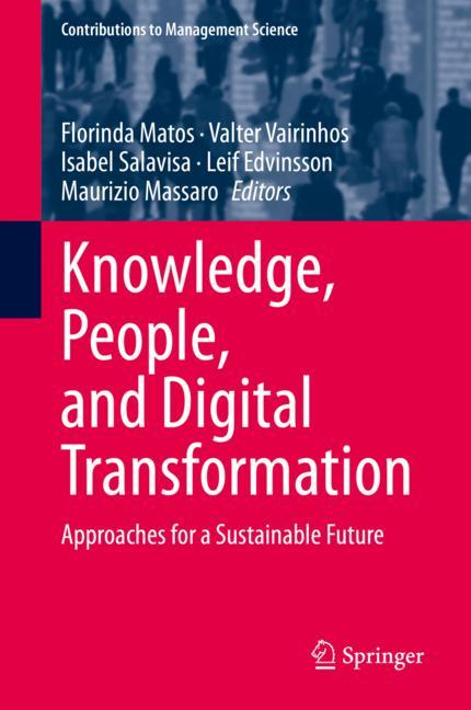 Cover of 'Knowledge, People, and Digital Transformation'