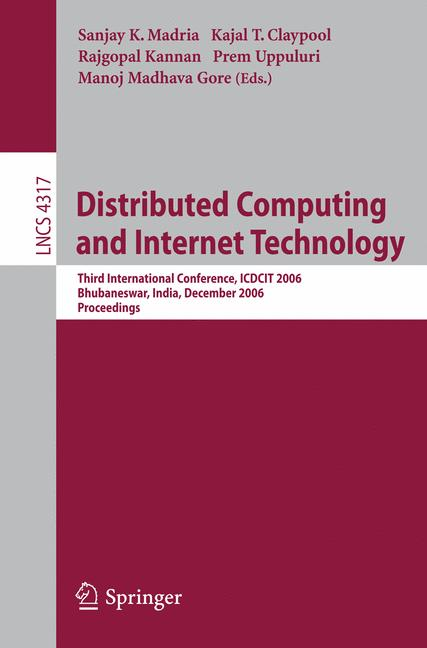Cover of 'Distributed Computing and Internet Technology'