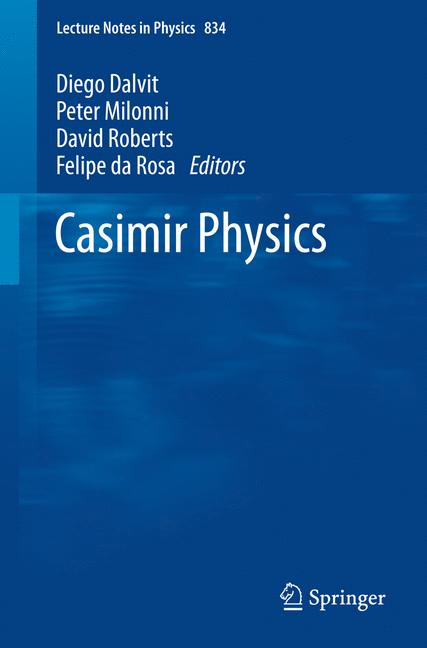 Cover of 'Casimir Physics'
