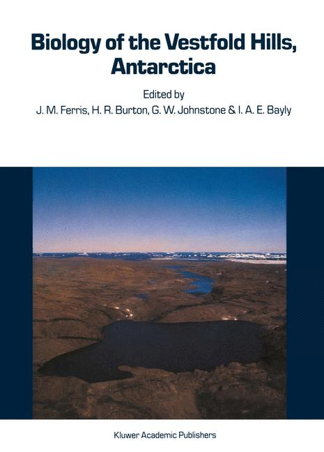 Cover of 'Biology of the Vestfold Hills, Antarctica'
