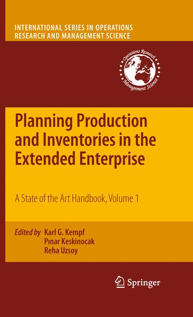 Cover of 'Planning Production and Inventories in the Extended Enterprise'