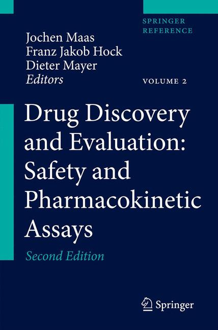 Cover of 'Drug Discovery and Evaluation: Safety and Pharmacokinetic Assays'