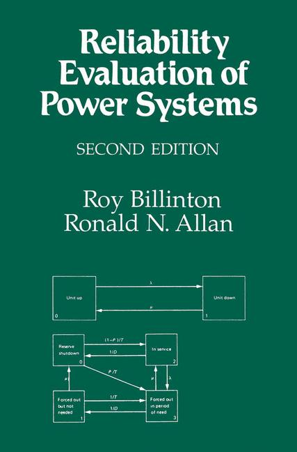 Cover of 'Reliability Evaluation of Power Systems'