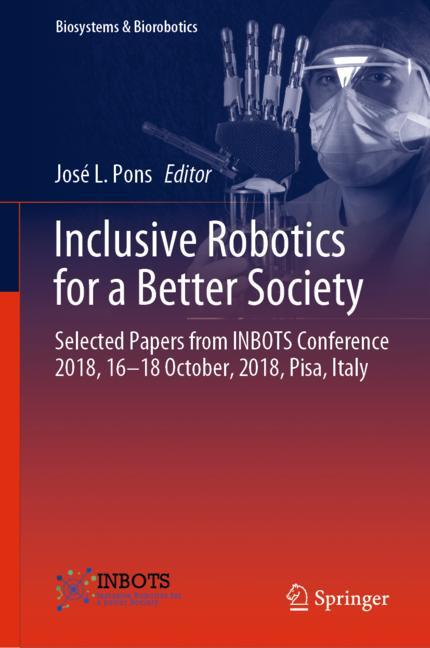 Cover of 'Inclusive Robotics for a Better Society'