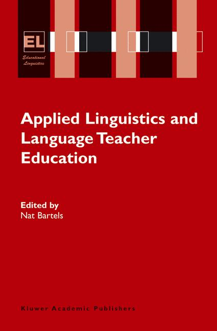 Cover of 'Applied Linguistics and Language Teacher Education'
