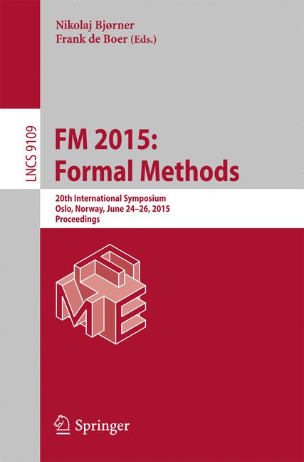 Cover of 'FM 2015: Formal Methods'