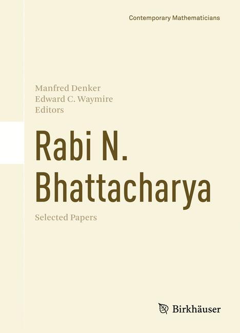 Cover of 'Rabi N. Bhattacharya'