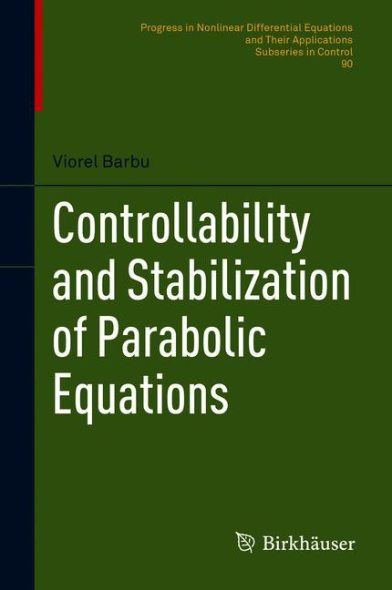 Cover of 'Controllability and Stabilization of Parabolic Equations'