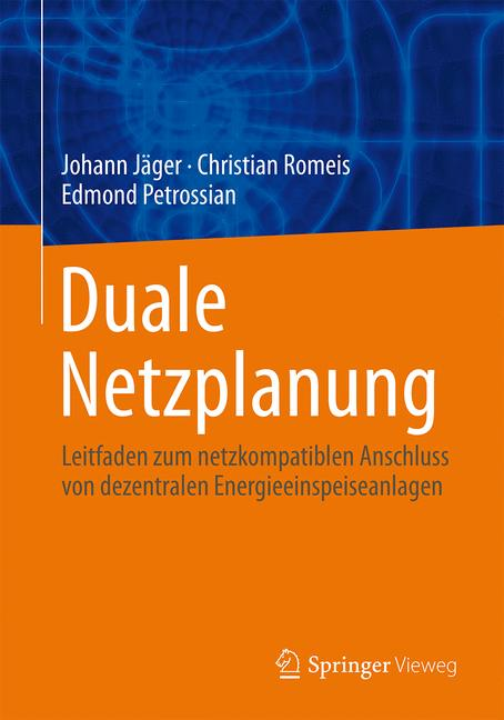 Cover of 'Duale Netzplanung'