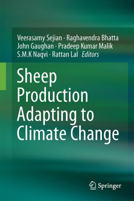 Cover of 'Sheep Production Adapting to Climate Change'