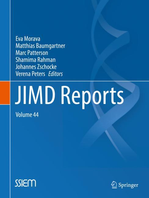 Cover of 'JIMD Reports, Volume 44'