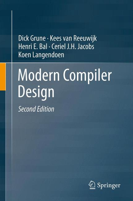 Cover of 'Modern Compiler Design'