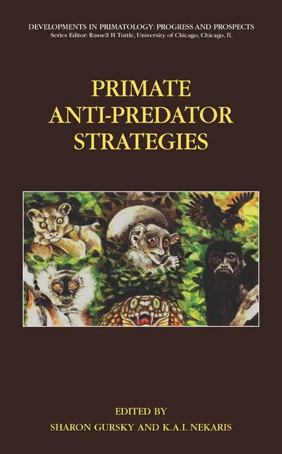 Cover of 'Primate Anti-Predator Strategies'