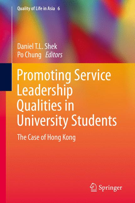 Cover of 'Promoting Service Leadership Qualities in University Students'