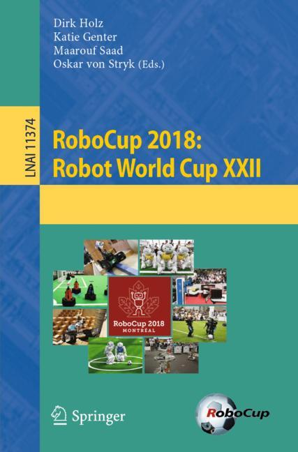 Cover of 'RoboCup 2018: Robot World Cup XXII'