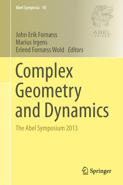 Cover of 'Complex Geometry and Dynamics'