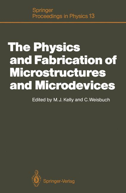 Cover of 'The Physics and Fabrication of Microstructures and Microdevices'