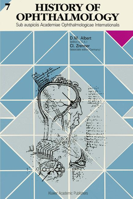 Cover of 'History of Ophthalmology'