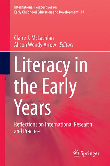 Cover of 'Literacy in the Early Years'