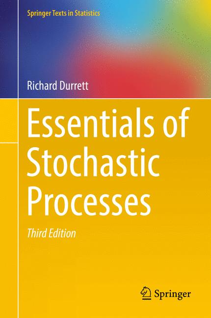 Cover of 'Essentials of Stochastic Processes'