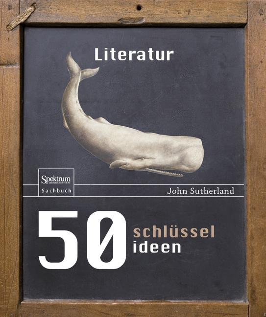Cover of '50 Schlüsselideen Literatur'