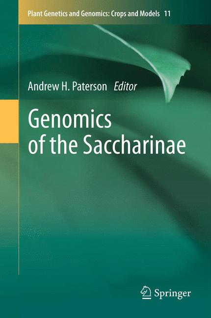 Cover of 'Genomics of the Saccharinae'