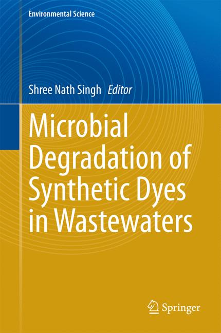 Cover of 'Microbial Degradation of Synthetic Dyes in Wastewaters'