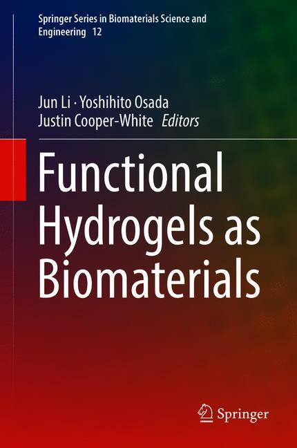 Cover of 'Functional Hydrogels as Biomaterials'