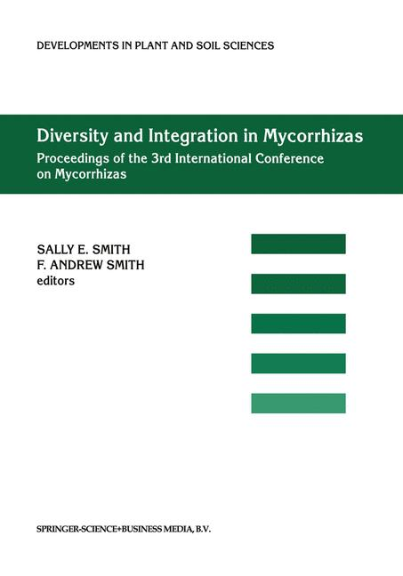 Cover of 'Diversity and Integration in Mycorrhizas'