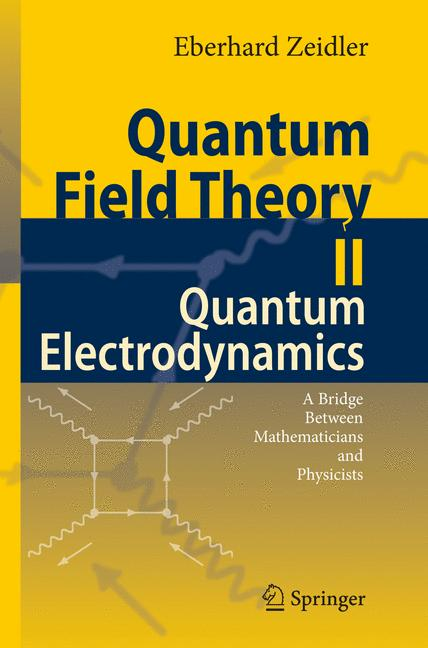 Cover of 'Quantum Field Theory II: Quantum Electrodynamics'