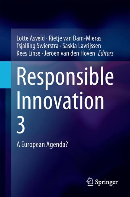 Cover of 'Responsible Innovation 3'