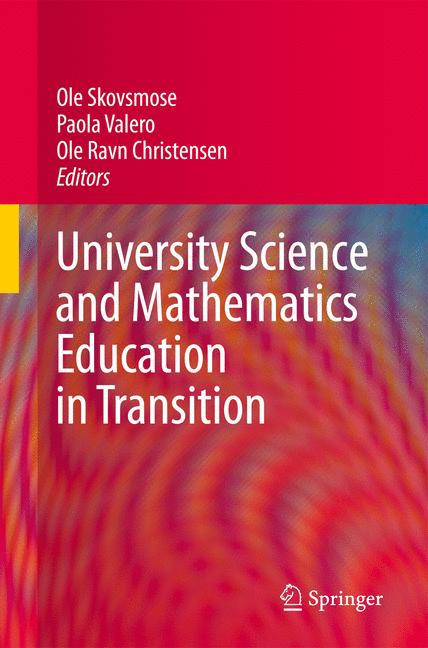 Cover of 'University Science and Mathematics Education in Transition'