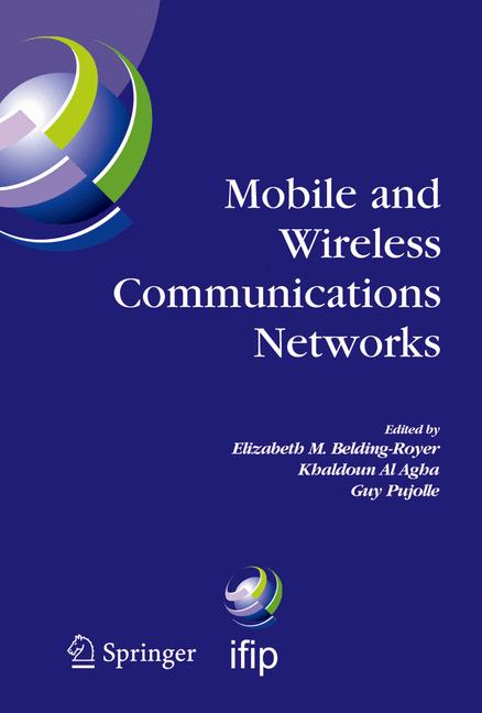 Cover of 'Mobile and Wireless Communication Networks'