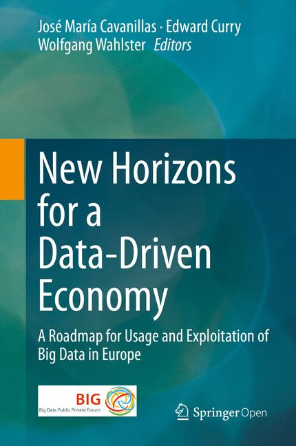 Cover of 'New Horizons for a Data-Driven Economy'