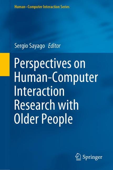 Cover of 'Perspectives on Human-Computer Interaction Research with Older People'