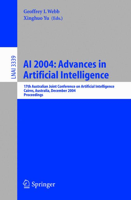 Cover of 'AI 2004: Advances in Artificial Intelligence'